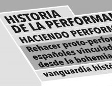 Aux Origines de l'art Performance – Valencia